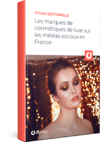 FR - Les marques de cosmétiques de luxe sur les médias sociaux en France_3D BOOK