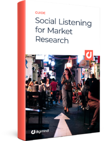 eBook Social Listening for Market Research - 3D Book Cover